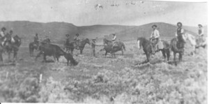 Roundup at 76 Ranch 1881